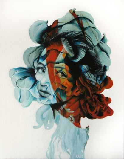 "FOR SALE. 18""x 24"" Acrylic on canvas"