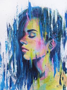 "SOLD. 16""x18"" Acrylic on canvas."