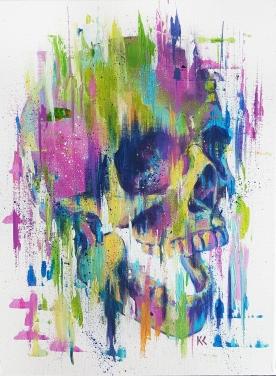 "SOLD. 12""x16"" Acrylic on canvas."