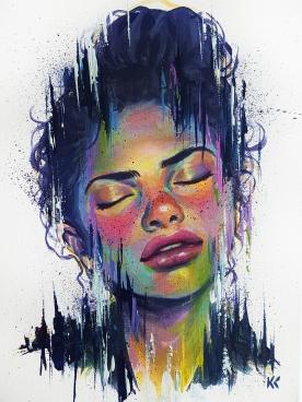 "SOLD.12""x16""Acrylic on canvas"