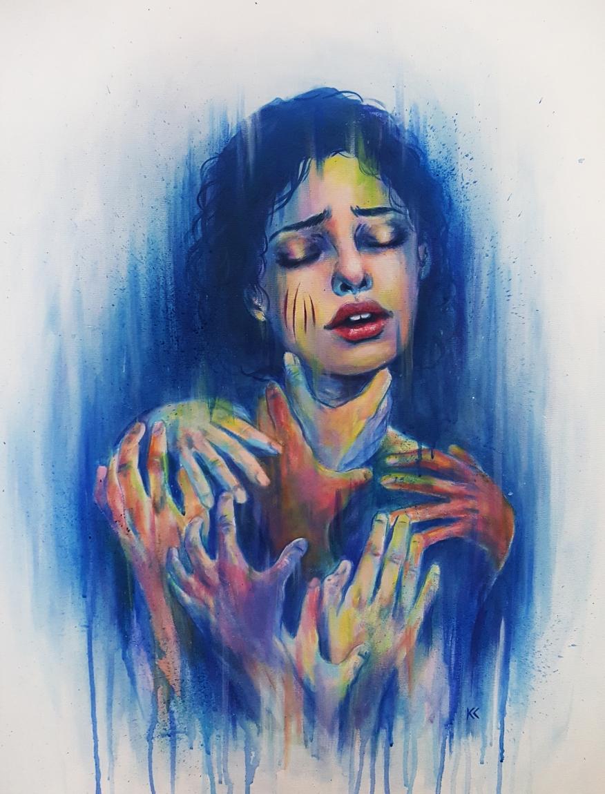 """Acrylic on canvas 20""""x30"""