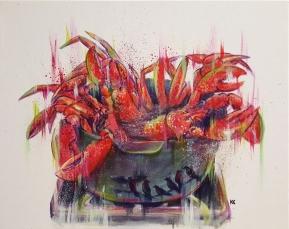 """Acrylic on canvas 20""""x30"""""""