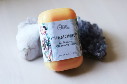"""Soap Works"" Chamomile Soap Package Concept"