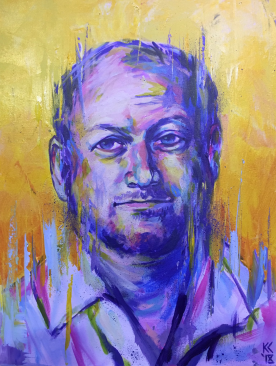 Mark Towhey Live Painting