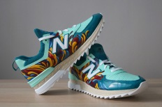 Custom painted shoes for New Balance Canada